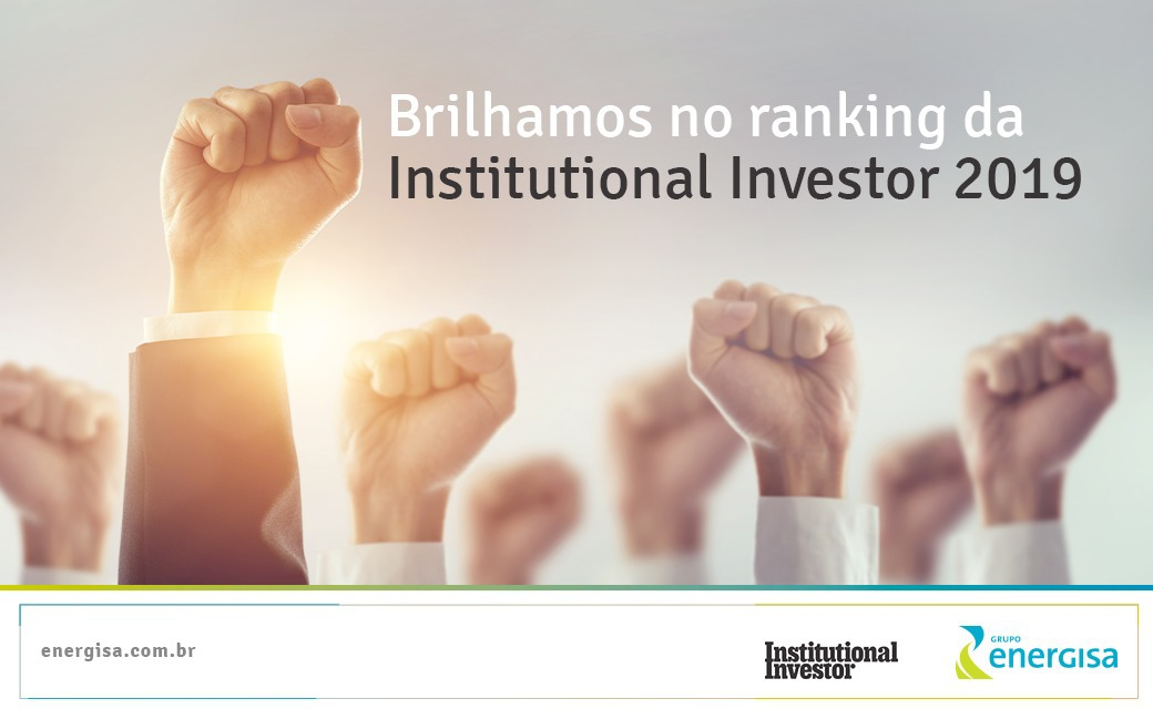 ​Brilhamos no ranking da Institutional Investor 2019
